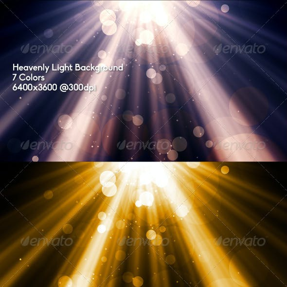 Heavenly Light Background