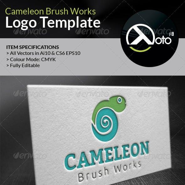 Cameleon Brush Works Logo