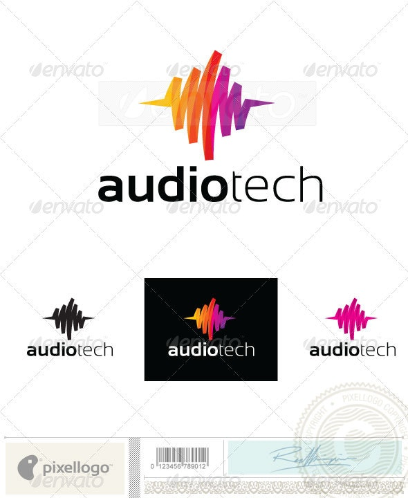 Music Logo-2403 - Vector Abstract