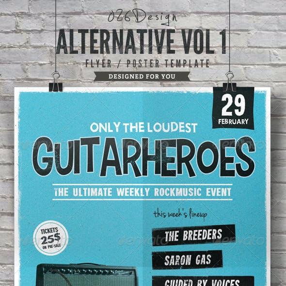 Alternative Flyer / Poster Vol. 1