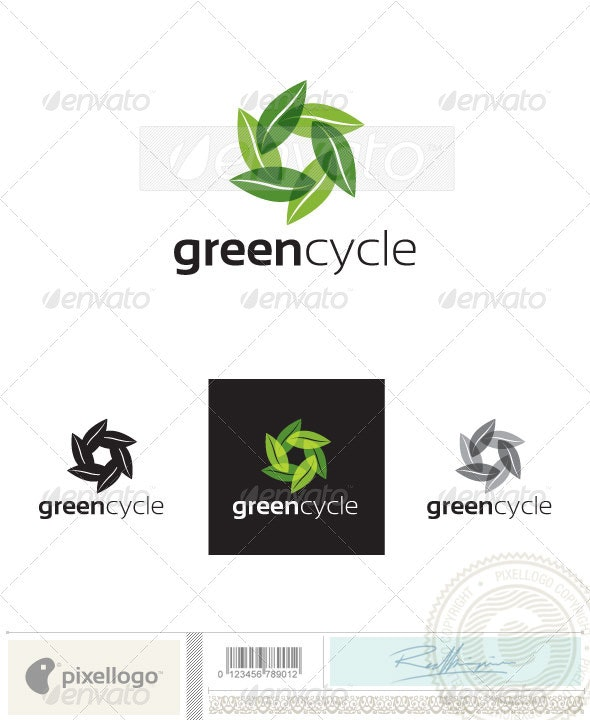 Nature & Eco Friendly Logo-2390 - Nature Logo Templates