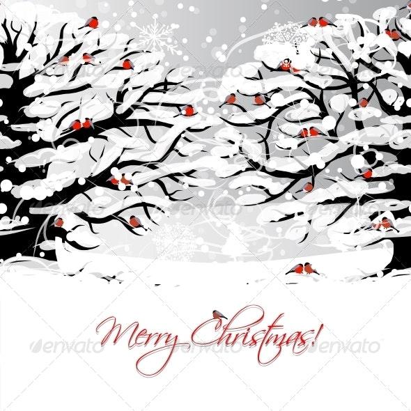 Christmas Card - Seasons Nature
