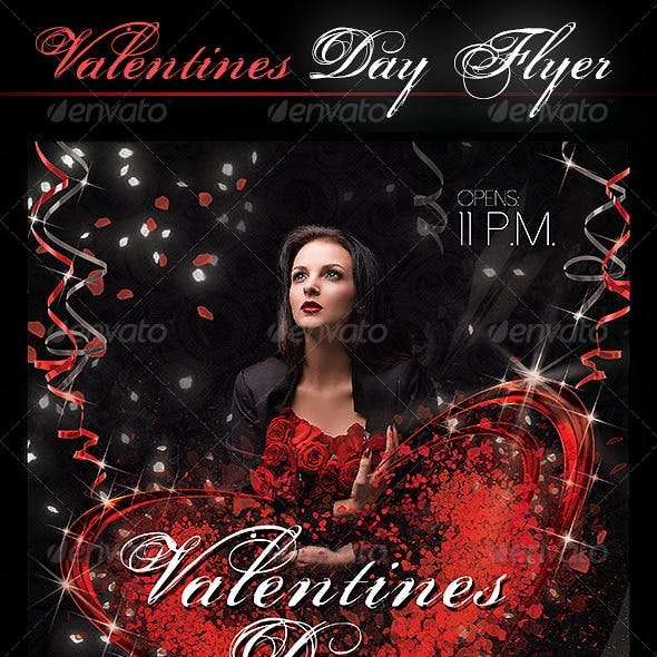Flyer Valentine`s Day