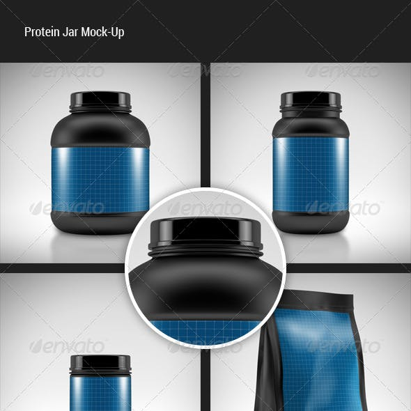 Protein Jar Mock-Up