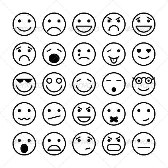 Smiley Faces for Website Design