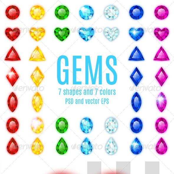 The Big Set of Gems