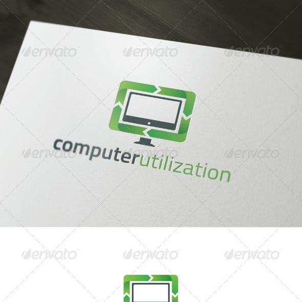 Computer Utilization Logo