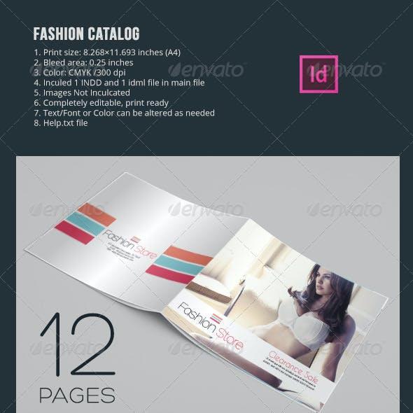 Fashion Catalog In-design Templates