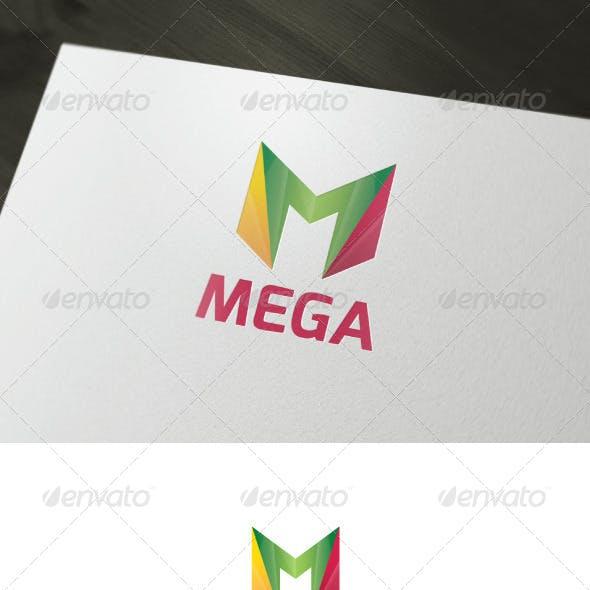Mega Logo — Letter M