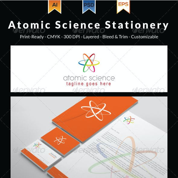 Atomic Science Stationery