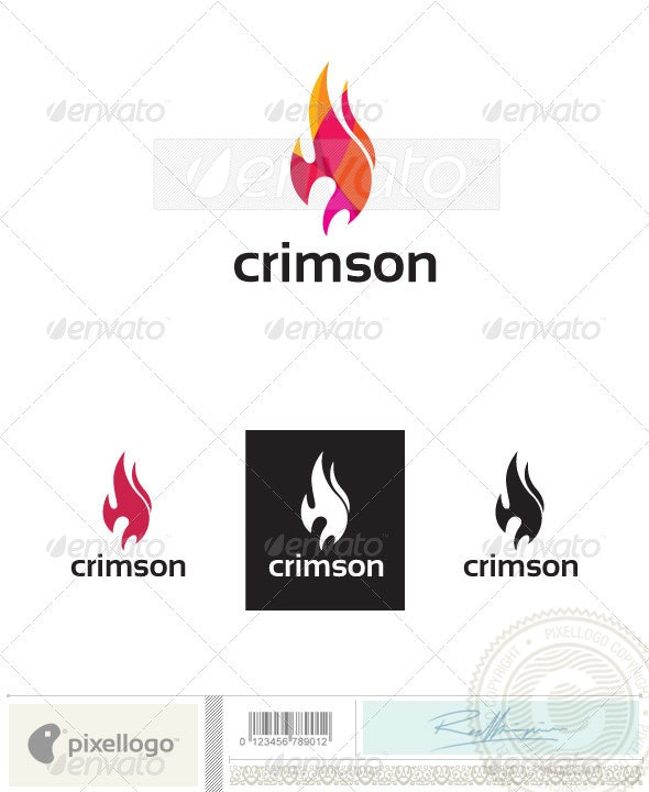 Fire Logo-2389 - Food Logo Templates