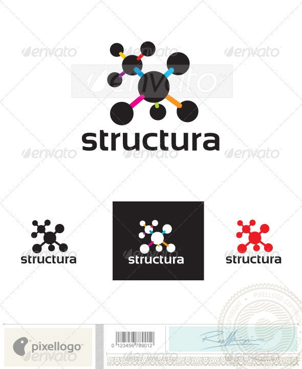 Science & Chemistry Logo-2394 - Symbols Logo Templates