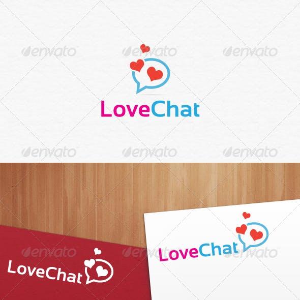 Love Chat Logo Templates
