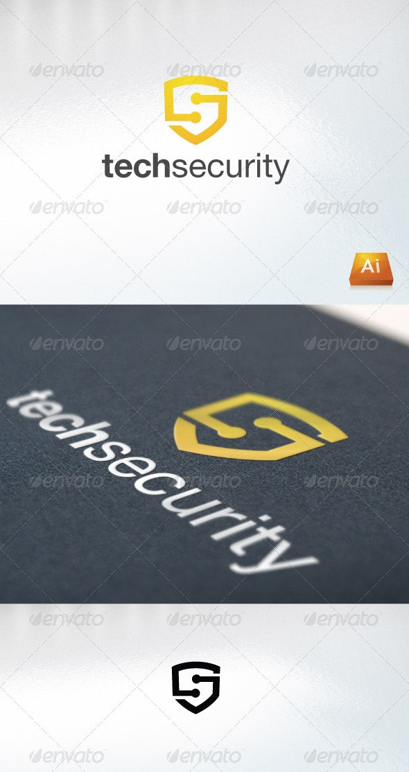 Techsecurity - Abstract Logo Templates