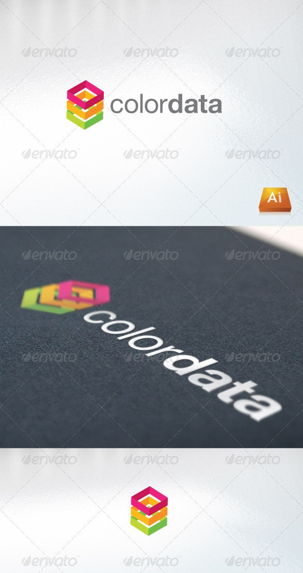 Colordata - Abstract Logo Templates