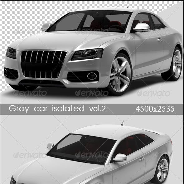 Gray Cars Isolated Vol.2