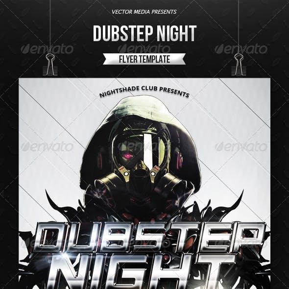 Dubstep Night - Flyer