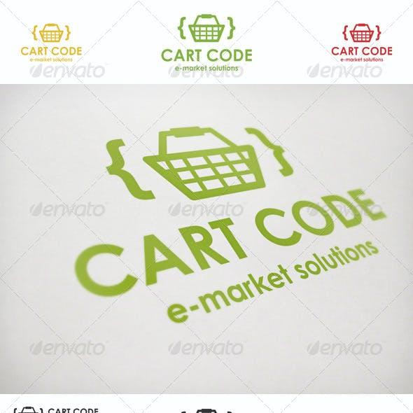 Cart Code E-Market Logo