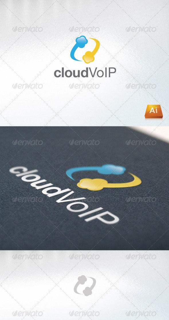 cloudVoIP - Abstract Logo Templates