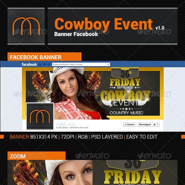 Cowboy Event v1.1 - Timeline Facebook