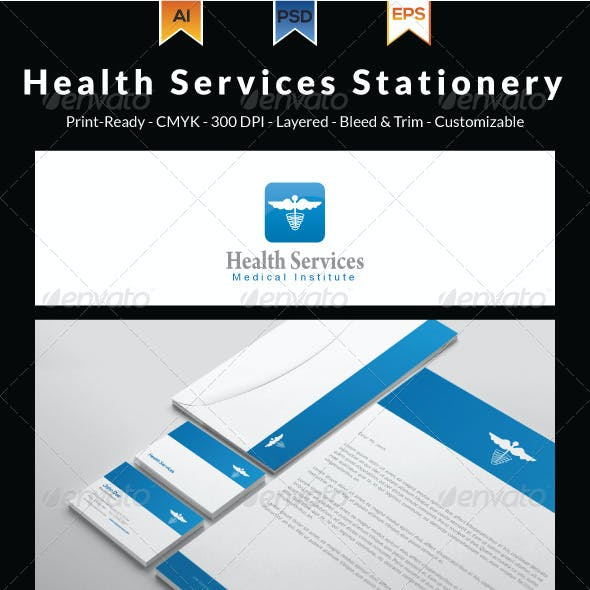 Health Services Stationery