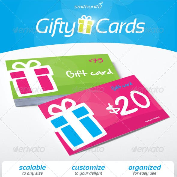 Gifty Cards - Gift card