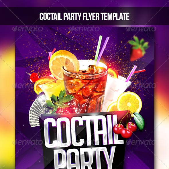 Coctail Party Flyer