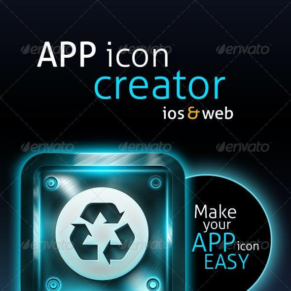 Icon Creator PSD Layered V01
