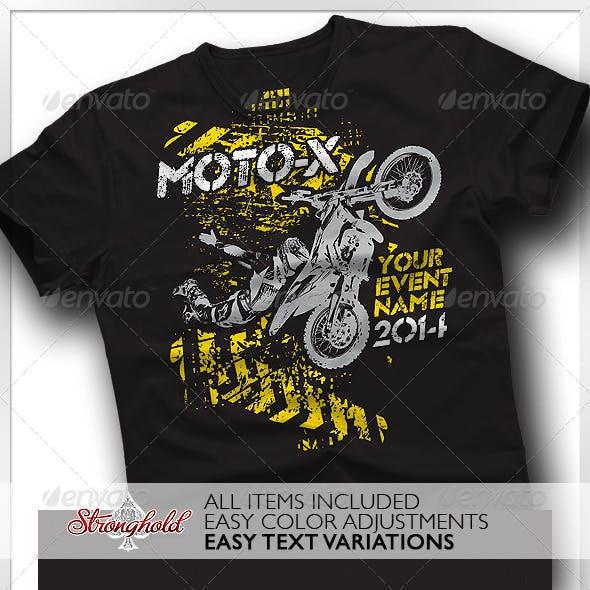 Moto X Team T-Shirt Template