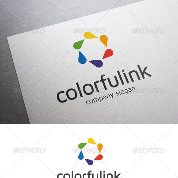 Colorful Ink Logo