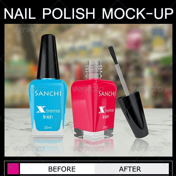 Nail Polish Mock-Up