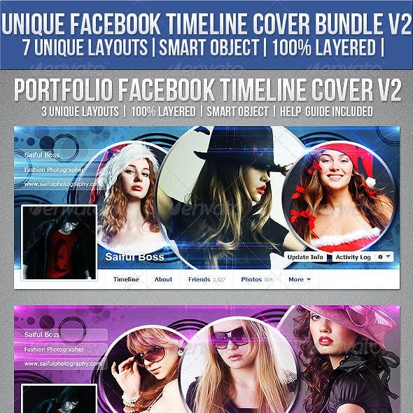 3 Facebook Timeline Cover Bundle V2