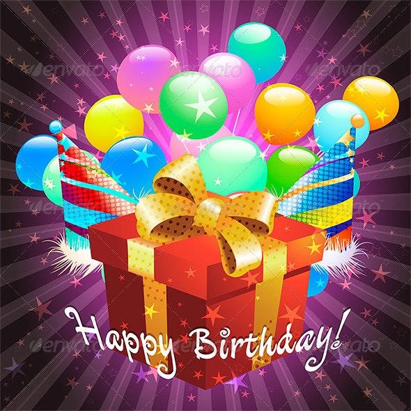 Birthday Greeting Card Design. - Birthdays Seasons/Holidays