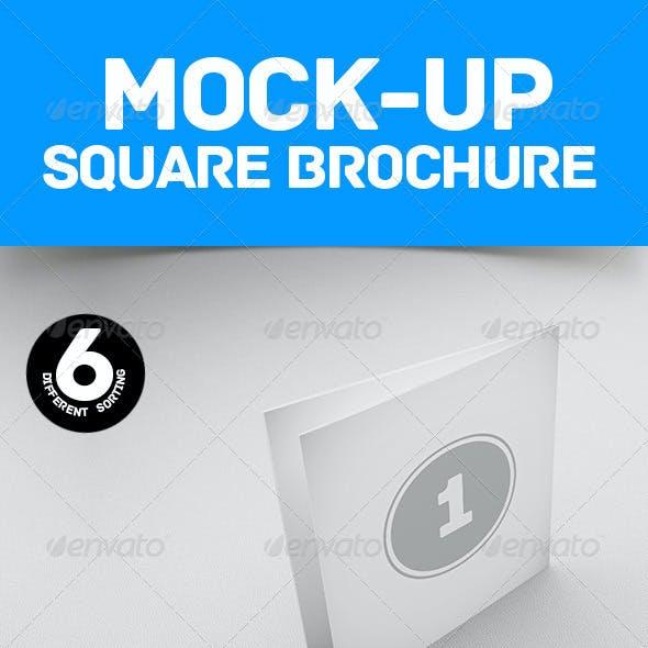 Mockup Square Brochure