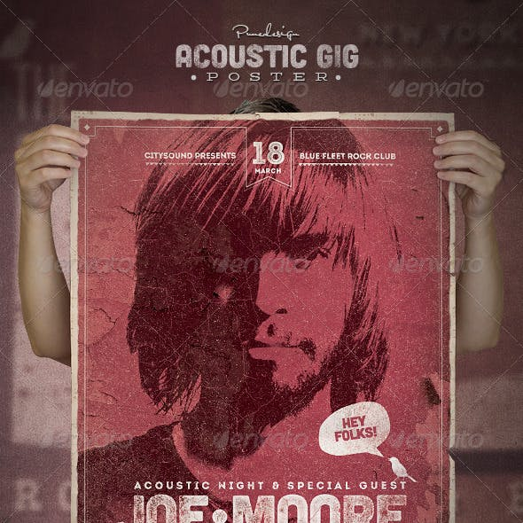 Acoustic GIG Poster