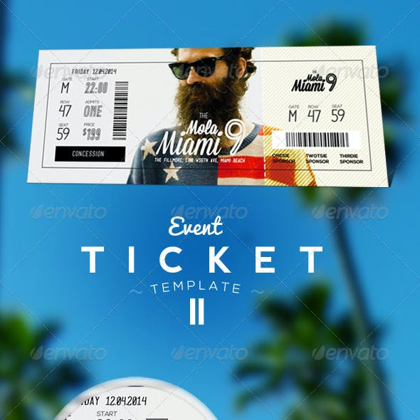 Event Tickets Template II