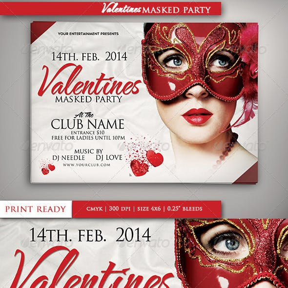 Valentines Masked Party