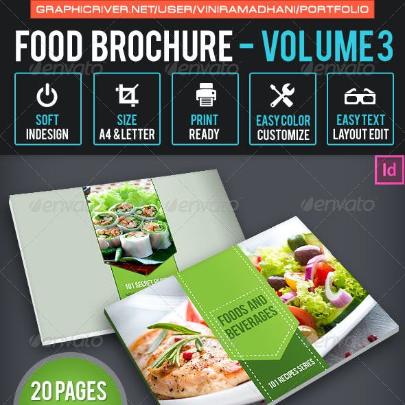 Food Brochure | Volume 3