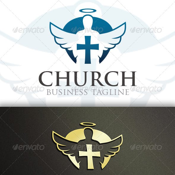 Modern Church Logo Template