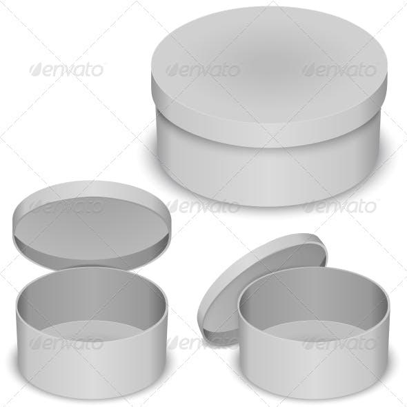 Round Box Template