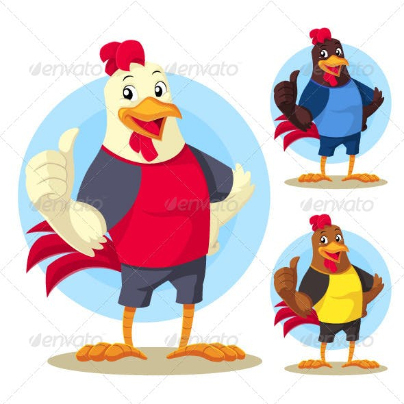 The Rooster Mascot