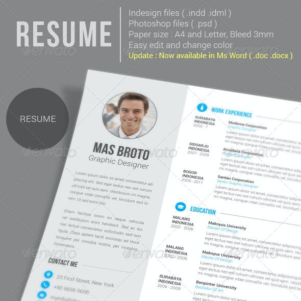 Resume (update)