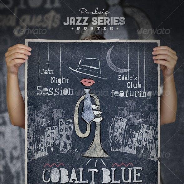 Jazz - Artistic Series - Poster