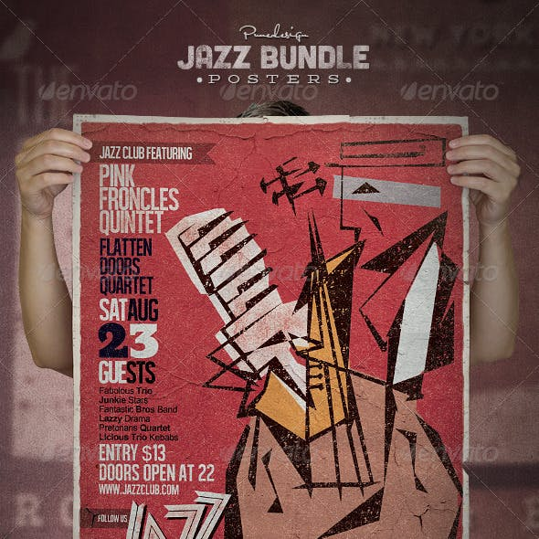 Jazz Flyer/Poster Bundle
