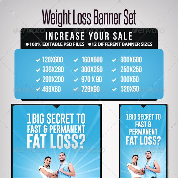 Lose Fat Graphics Designs Templates From Graphicriver