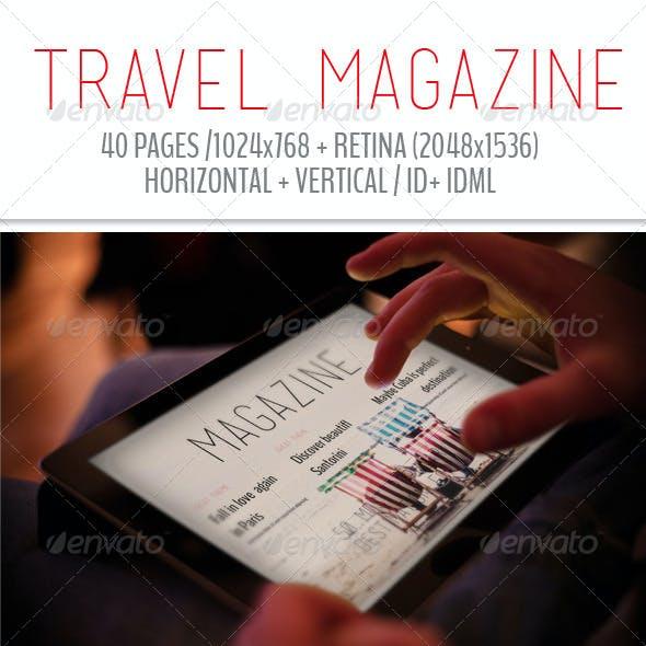 iPad & Tablet Travel Magazine