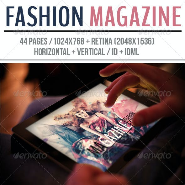 iPad & Tablet Fashion Magazine
