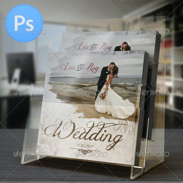 20 Pages Elegant Wedding Photo Album For Photoshop