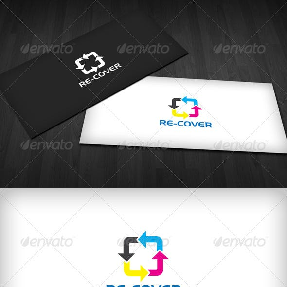 Re-Cover Logo Template