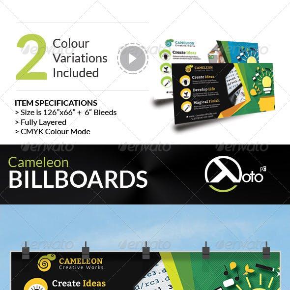 Cameleon Works Billboard Banners